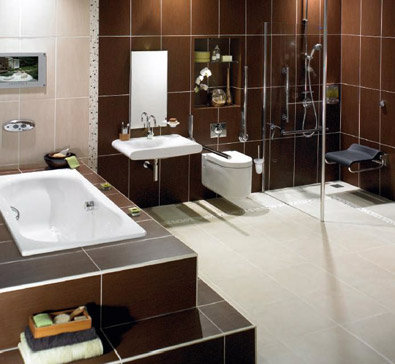 Small Bathroom Design on Bathroom Design  Wetrooms   Walk In Shower Installation